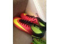 Mercurial football boots