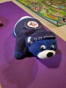 Winnipeg jets pillow pet