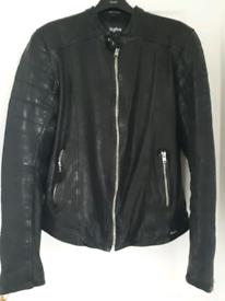 Men's leather jacket TIGHA