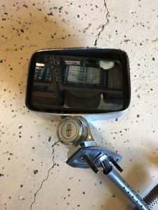 1985 Lincoln Town Car heated remote mirror with thermometer