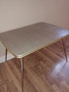 60's Kitchen Table in Great Shape! $50.  Retro Style!