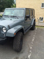 Jeep Wrangler unlimited Sahara lease transfer/transfert de bail