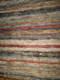 John Lewis Jute knit Rug 1.77m X 1.25m