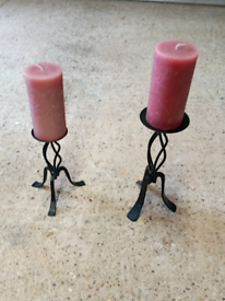 CANDLES WITH STANDS