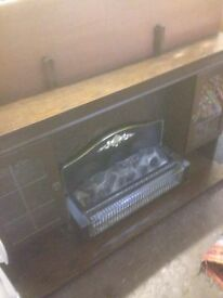 Fire surround and fire free delivery