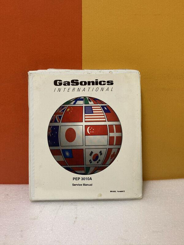 Gasonics 96-3035 PEP 3010A Service Manual