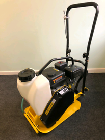 Professional wacker plate 82kg compactor with water tank NEW