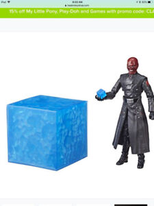 SDCC 2018 Marvel Red Skull & Electronic Tesseract