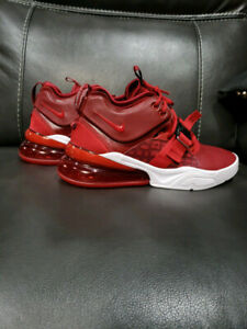 7fd013fe714f NIKE AIR FORCE 270 - RED - SIZE 8.5