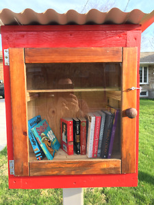Little Free Library in Need of Books!