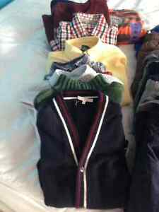 Lot of boys clothes, two jackets included