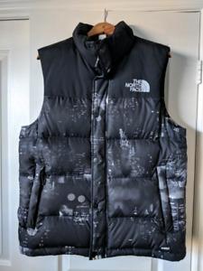The North Face men's Nuptse city lights vest size M