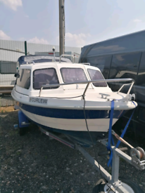 15 Foot Fishing/Leisure Boat and Trailer