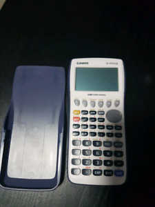 Casio Graphing Calculator- fx9750Gii