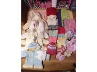 Baby girl clothes bundle (35 items)