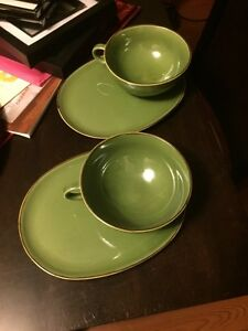 Tea/coffee cup and plate