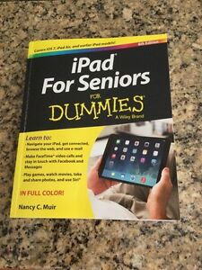 iPad for Seniors for Dummies Book