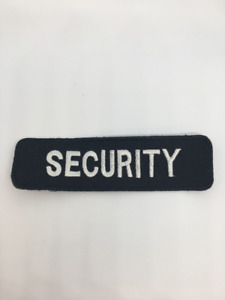 Small Embroidered Security Patch