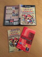 Paper Mario the Thousand-Year Door GameCube Box/ Manuals Only
