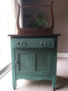 Upcycled  Vintage Unit/ cabinet