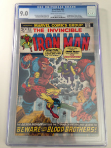 1st app. THANOS in Iron Man comic 55 CGC 9.0 $1895 OBO