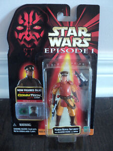 Star Wars Naboo Royal Security Figure *NEW IN BOX*