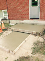 Shed pads & hot tub pads