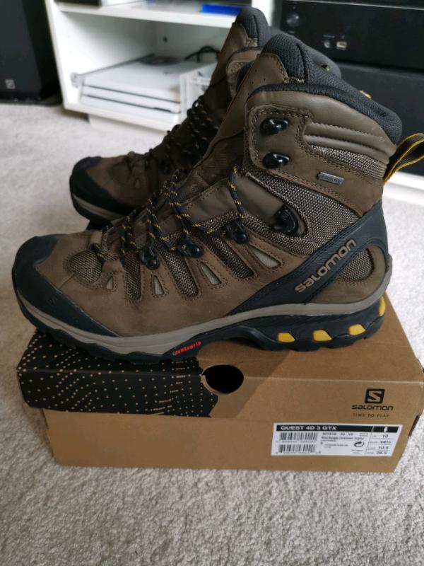 Salomon Quest 4D 3 GTX Walking Boots   in Southside, Glasgow   Gumtree