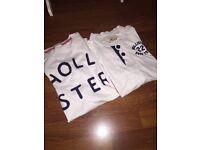 hollister tshirt & long sleeve