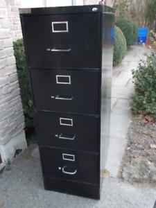 Legal Locking Four Drawer Filing Cabinet