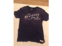 Job lot of 4 True Religion men's t-shirts. All brand new and mint condition