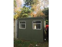 Site office portacabin shipping container