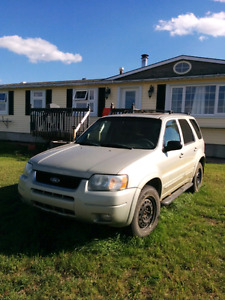 04 ford escape limited AWD/4x4