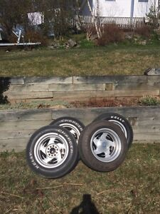Rims for sale. Missing one center cap.