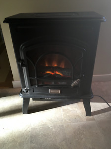 Electric fireplace $30