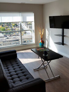 Now Available - furnished 2 bdrm with den - corner unit