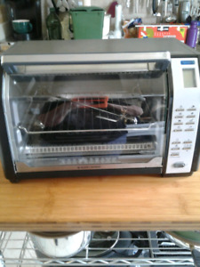 ,Black And Decker convection ,rotisserie oven