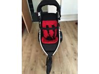 Phill n ted double pushchair