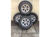 Alloy wheels for Nissan terrano jeep 4X4
