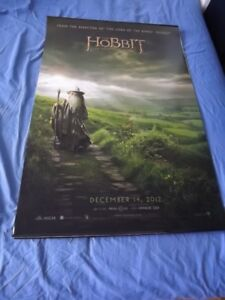 LORD OF THE RINGS MOVIE POSTERS-BOOKS & THE HOBBIT MOVIE POSTERS