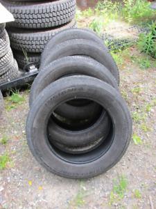 4 tires, 215/60 R16 Bridgestone Insignia/Goodyear American Eagle