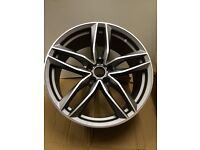 """19"""" NEW STYLE AUDI RS6 ALLOY WHEELS VW A2 A3 A4 A5 A6 RS3 RS4 RS5 RS6 RS7 S1 S2 S3 SEAT LEON"""