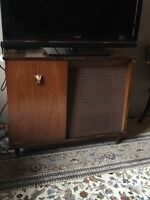 Electrohome record player cabinet.