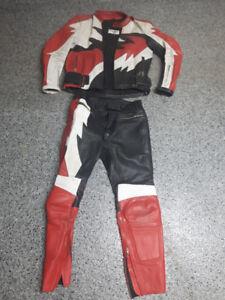 habit de cuir pour moto TEKNIC - HOMME