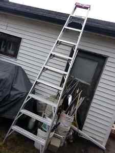 STEP LADDERS  6 FOOT ALUMINUM LADDERS AVAILABLE  RANGE FROM $40 Kitchener / Waterloo Kitchener Area image 1