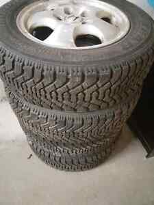 2002 Honda Accord OEM Mags and Winter tires, 205/65R155x114.3