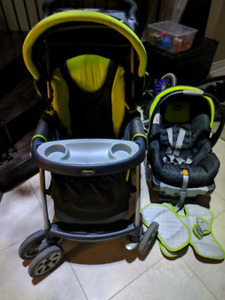 Chicco Cortina se travel system (stroller and car seat)