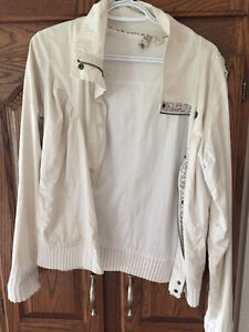 Element white spring jacket