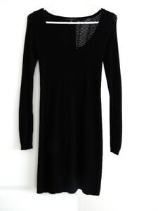 SCOOP NECK SWEATER DRESS $10