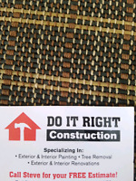 Do It Right Contracting